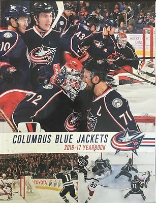 Columbus Blue Jackets Yearbook Program 2016 2017 Stanley Cup Final Playoffs