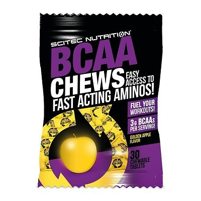 BCAA Chews Scitec Nutrition 30 tabs gout pamplemousse rose