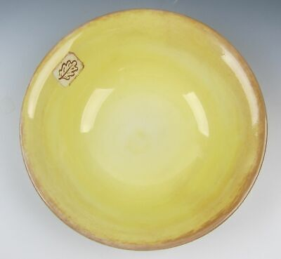 Wood & Sons China LEAF-GOLD Round Vegetable Bowl EXCELLENT