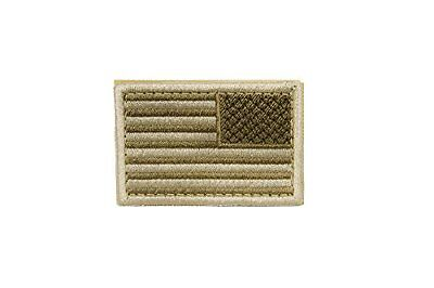 US Flag Patch Reverse Color- Desert (6 Pack)