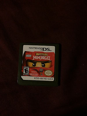 LEGO Battles: Ninjago - Nintendo DS - Cartridge Only - FREE SHIPPING