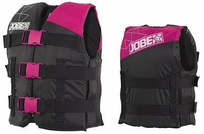 Jobe Progress Nylon Vest Youth Kids Life Jacket Float pink