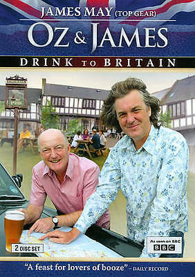 Oz and James Drink to Britain (DVD, 2011, 2-Disc Set)  BRAND NEW    BBC