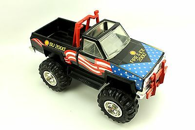 Vtg Tonka Shell Oil Fire & Ice 2000 Monster Truck Toy (1983 Body Date Stamp)