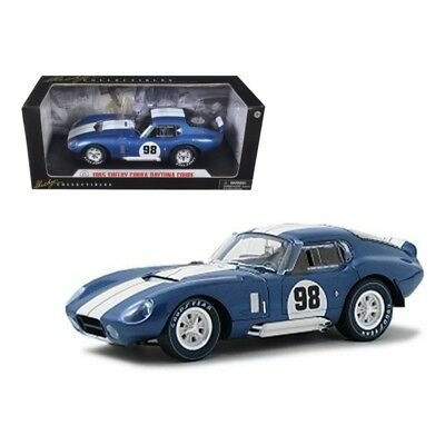 ANAA-SC130-1965 Shelby Cobra Daytona Coupe #98 Race Version 1:18 Scale (Blue/Wh