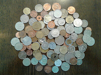 Nice Starter Set of World International Coins, 100 plus in each lot!