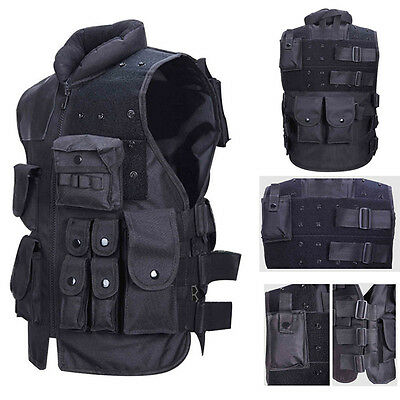 Amphibious Military Vest Training Combat Adjustable Outdoor Tactical Assault New
