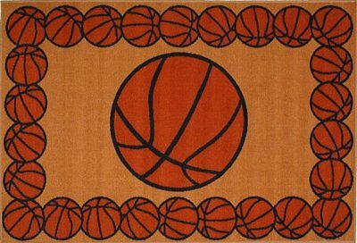DOBK-15690144-Fun Rugs FT-93 1929 Basketball Time Accent Rug, 19-Inch by 29-Inc
