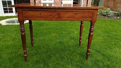 Antique Georgian mahogany writing desk /occasional or hallway table