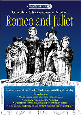NEW sealed ROMEO AND JULIET Graphic Shakespeare AUDIO CD 9780237535131