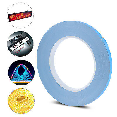 8mm Thermal Conductive Double Sided Adhesive Tape For Heatsink Chipset LED GPU H