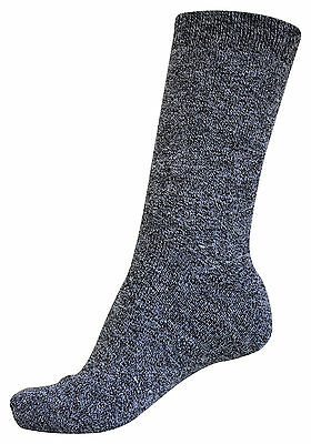 Pack of 3 : OCTAVE® Mens Cotton Rich Boot Socks - 3 Colours - Great For Outdoors