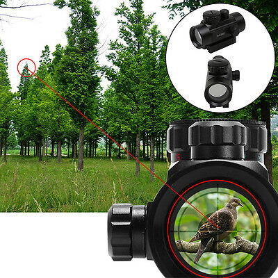Tactical Red Green Dot Laser Sight Scope 11/20mm Mounts For Hunting Military