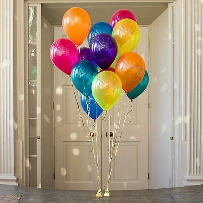 10 Jewel Radiant Helium Quality Balloons-Party Decorations-Party Supplies