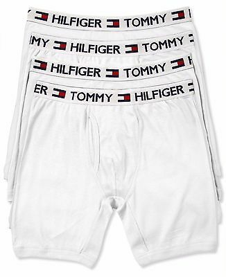 4 X Mens Tommy Hilfiger Cotton  Short Guy Front Very Loose Fit Navy Or White
