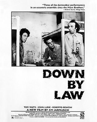 Down By Law 01 (Tom Waits) Film Poster Print