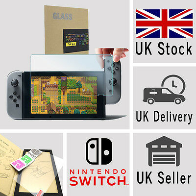 New Nintendo Switch Guard Tempered Glass Protection Shield Screen Protector