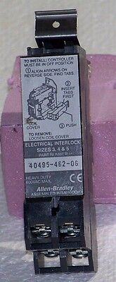 40495-462-06 Allen Bradley  auxiliary contacts, 500 Series, 1NO/1NC, 600V.