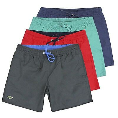e10c9b5908 Lacoste Swim Shorts - Beach Short From Lacoste - Navy/black/red/turquoise