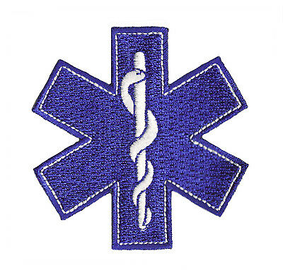 Patch brodé patche thermocollant écusson logo urgences urgence urgentiste