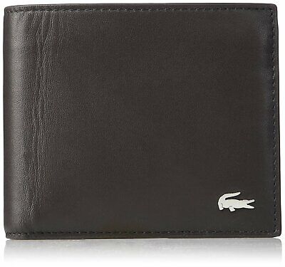 Lacoste Men's M Billfold Coin Key Ring Brown
