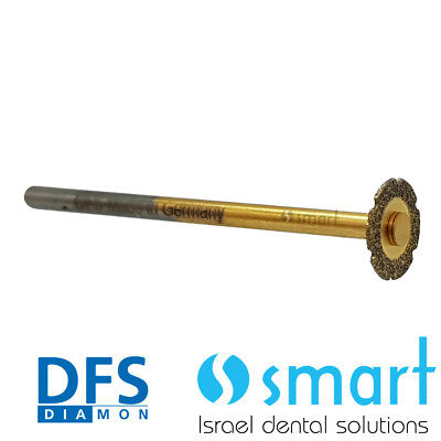 Dental Zirconia cutter zircut crown removing DFS made in Germany HP diamond