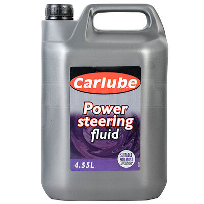 Carlube Power Steering Fluid Synthetic Oil Based Hydraulic Lubricant 4.55 Litre