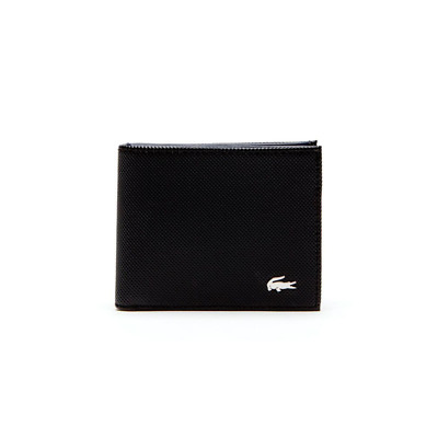 Lacoste Slim Billfold Id Slot Black