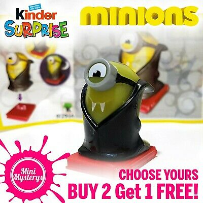 Kinder Despicable Me 3 & Minions Movie Kinder Minifigures Toys Cake Toppers