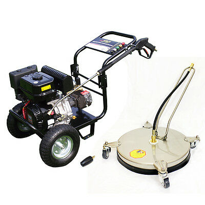 £10 / WEEK on LEASE KM3700P Petrol Pressure Washer Driveway Pack Patio Cleaner