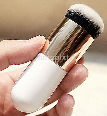 Flat Pro Cosmetic Kabuki Chunky Face Makeup Face Blush Foundation Powder Brush F