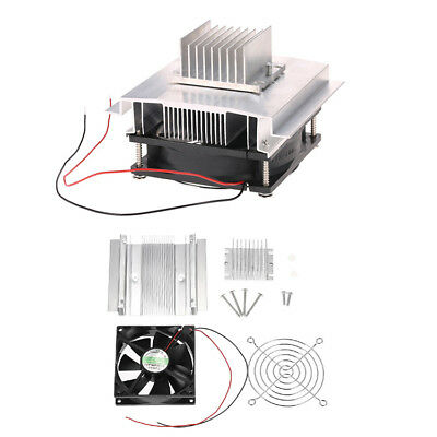 Thermoelectric Peltier Refrigeration Semiconductor Cooling System Kit Cooler DIY