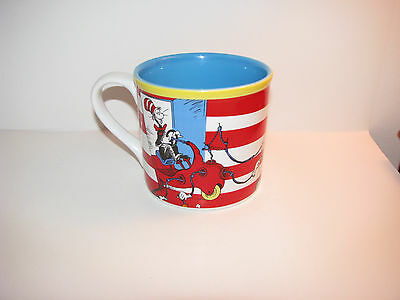 """Dr. Seuss Cat In The Hat  """"What Would Mama Say"""" Coffee Mug/Cup By Vandor - NEW"""