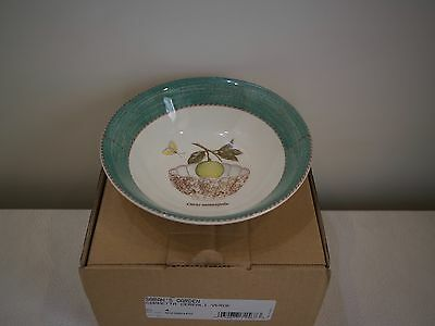 Wedgwood Sarah's Garden Cereal Cup Set of 4 Green