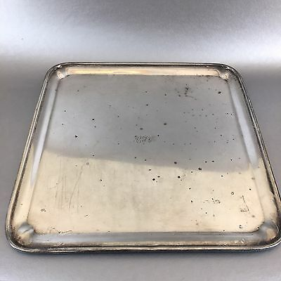 """Canadian Pacific Railroad CPR Marlboro Plate Silverplate 12"""" Large Serving Tray"""