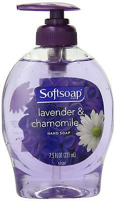 2 PACK Softsoap Liquid Hand Soap w Pump Lavender Chamomile Soothing Scent 7.5 oz