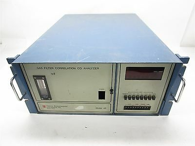 Thermo Environmental Instruments Model 48 Gas Filter Correlation CO Analyzer