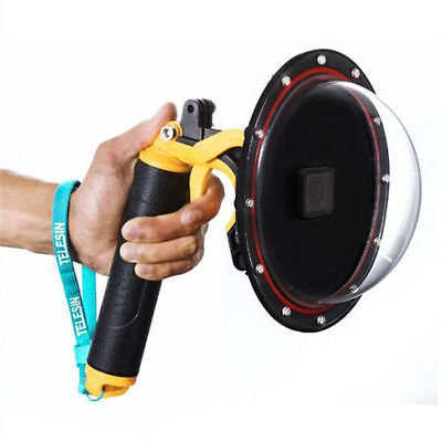 "7.28"" Diving Camera Lens Underwater Dome Port Cover Case for GoPro Hero 5 Black"