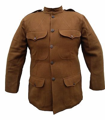 "WW1 U.S. M1917 Service Coat. High Quality Reproduction! Size 54"" Chest"
