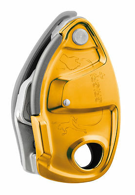 PETZL GRIGRI + Plus - Belay device with assisted braking and anti-panic handle
