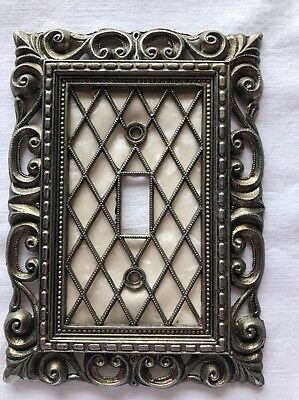 Vintage Brass  Switch Plate Cover 1968 From American Tack & Hardware