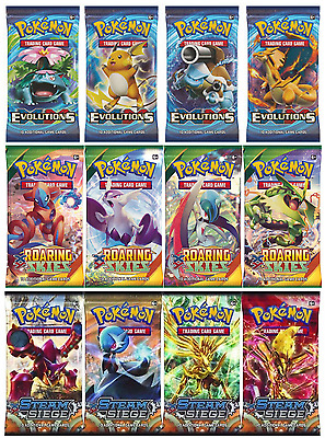 Pokemon Trading Cards Booster Pack - 1 Sealed Packet Supplied (10 Cards)