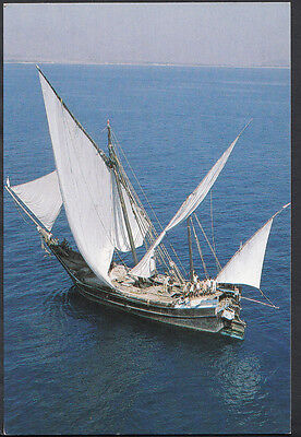 Shipping Postcard - Indian Pirate Dhow  B2352