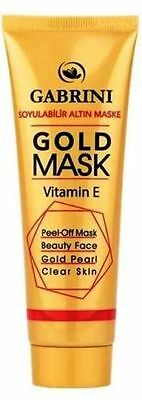 New Unisex Tube Gold Mask Mega Size 80 Ml Facial Mask Peel Off Blackhead Killer