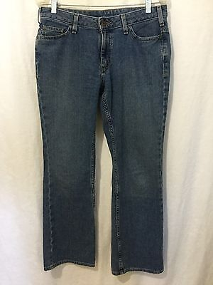 0902e24fd86 Carhartt Curvy Fit Stretch Bootcut Jeans Women s Size 6 30 Actual 32x30 ...