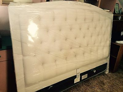 post 1950 beds bedroom sets furniture antiques picclick 11518 | ethan allen king sized tufted headboard