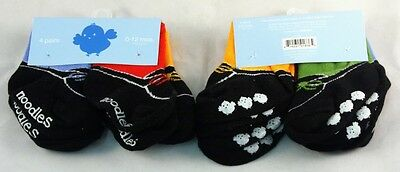 Trumpette Noodles 0-12 Mos. Baby Socks Eight Pair, New