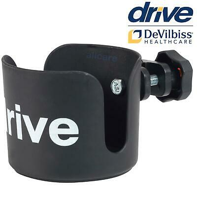 Drive Wheelchair Cup Holder for Bottle, Glass, Mugs Drink Cans Armrest fitting