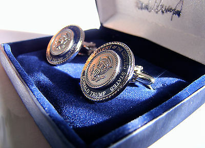 President Donald J. Trump Authentic White House Gift Cufflinks - Presidential