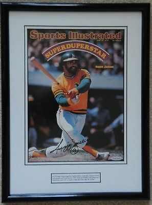 Reggie Jackson Autographed Sports Illustrated Cover